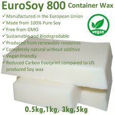 1kg 3kg 5kg PROFESSIONAL 100% NATURAL SOY WAX Melt & Candle Making Supplies BULK