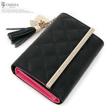 Omnia g0650 Tiffany Woman's Genuine Leather Cowhide Middle Wallet Luxury Special