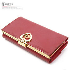 Omnia g0003 Hurb Woman's Genuine Leather Cowhide Long Wallet Luxury Special