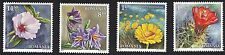 Romania 2014 Desert Flowers - Complete Set of 4 Stamps- MNH
