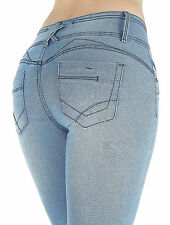 LS8-88184S - Colombian Design, Butt Lift, Levanta Cola, Sexy Skinny Jeans