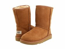 Children's Shoes UGG Youth Classic Short Boots Chestnut 5251Y  *New*