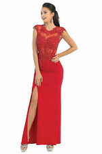 Long Formal Prom Dress Evening Party Gown
