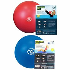 "Fitness Mad 7"" & 9"" Exer-Soft Exercise Gym Ball Pelvic & Pilates Home Workout"