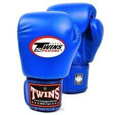 Twins Kids Boxing Gloves Blue 6oz and 8oz Muay Thai Boxing Gloves Twins Special
