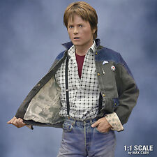 Screen Accurate Denim Jacket, BACK TO THE FUTURE, Marty McFly, Michael J. Fox