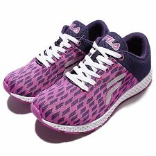 Fila J908Q Pueple Pink White Womens Running Shoes Sneakers 5-J908Q-991