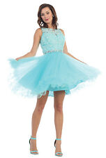 TheDressOutlet Short Homecoming Formal Prom Dress Cocktail