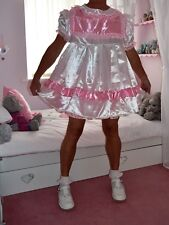 Sissy Baby  style Short n Sweet Satin Dress set From Nanny Sue