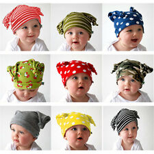 Unisex Baby Cap Beanie Boy Girl Toddler Infant Children Cotton Soft Cute Hat QW