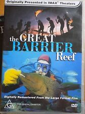 THE GREAT BARRIER REEF DVD IMAX Documentary Excellent Condition!