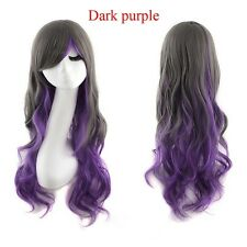 Heat Resistant Long Wavy Harajuku Style Cosplay Wig Full Wigs For Fashion Woman