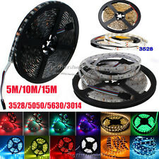 300LED-1200LEDs 3528  5630 5050 3014 SMD Flexible LED Strip Lights  Lamp 5M-20M