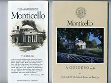 4 MONTICELLO Guides and Brochures Home Thomas Jefferson Charlottesville Virginia