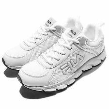 Fila J972Q White Grey Womens Running Shoes Sneakers Trainers 5-J972Q-141