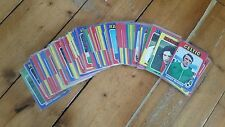 Scottish Topps Football Card Complete set 1975 (Blue Backs) not A&BC