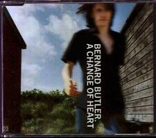 BERNARD BUTLER A Change Of Heart  CD 3 Tracks Inc My Domain+More Than I Thought