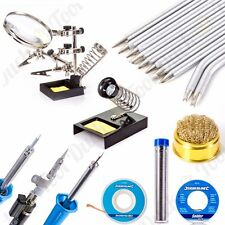 GENUINE SILVERLINE QUALITY LARGE SOLDERING RANGE Electrician Kit/Set/Repairs