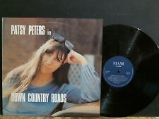 PATSY PETERS  Down Country Roads   LP   Signed and dedicated by Patsy!   EX