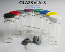 200 x 10ML GLASS VIALS - CHOOSE YOUR VIAL SETUP & COMBINATION