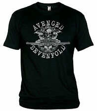 "T-SHIRT ""AVENGED SEVENFOLD-YOUR FUTURE IS SET FOREVER-METALCORE-HEAVY"" T-SHIRT"