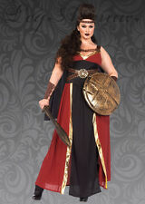 Womens Plus Size Viking Warrior Princess Costume