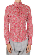 VIVIENNE WESTWOOD Woman Cotton Shirt with Button-down Collar Made in Italy