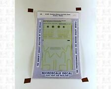 Microscale HO Decals Southern Railway F-Unit Diesels (1943-1960) 87-879