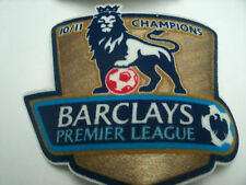 TWO X  BARCLAYS PREMIER LEAGUE 10/11 YEAR CHAMPIONS OFFICIAL BADGES FOR SHIRTS