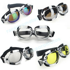 Helmet Eyewear Glasses Motorcycle Motorbike Goggle Scooter Cycling Sport Cruiser
