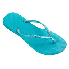HAVAIANAS Slim Ocean Green Womens Flip Flops Sandals