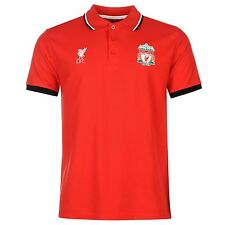 Liverpool FC Polo Shirt Source Lab Mens Red Football Soccer Top T-Shirt