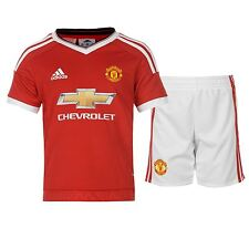 Adidas Manchester United FC Home Kit 2015 2016 Mini Childs Red Football Soccer
