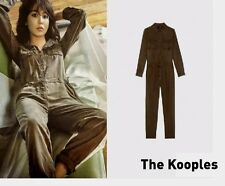 NEW THE KOOPLES KHAKI TROUSERS JUMPSUIT MILITARY STYLE XS (Fits Small too)