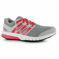 Adidas Galaxy Elite Running Shoes Womens Grey/White/Pink Run Trainers Sneakers