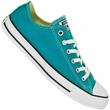 CONVERSE ALL STAR CHUCK TAYLOR OX SHOES CYAN SPACE BLUE CHUCKS SNEAKER 149520C