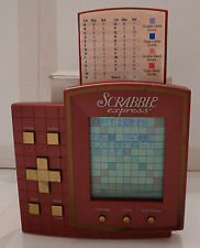 Electronic Handheld Game - Scrabble Express 1999 Hasbro - TESTED