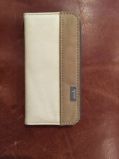 iPHONE 6 WALLET FOLIO CASE / COVER - MADE BY MOSHI - HOLDS CREDIT CARDS & MONEY