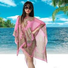 Womens Sunscreen Scarves Soft Chiffon Shawl Neck Wrap Scarf Stole Scarves