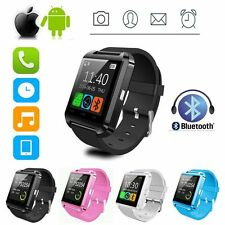 UK Bluetooth Smart Wrist Watch Phone Mate For Android&IOS iPhone Samsung HTC