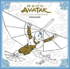 AVATAR THE LAST AIRBENDER COLORING BOOK NEW PAPERBACK BOOK