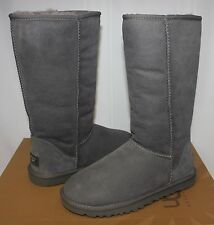 UGG Women's Classic Tall Grey boots 5815 New With Box!