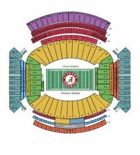 Alabama Crimson Tide Football vs Auburn Tigers NN 10 Row 9