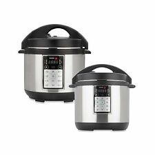 Lux All-In-One Multi-Cooker Convenient One-pot Cooking Presure Slow Rice Cooker