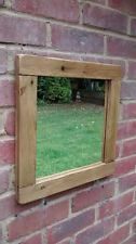 Rustic Wooden Mirror Handmade in Reclaimed Wood ***any size possible***