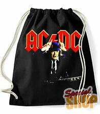 "BAG / BACKPACK ""ACDC-AC/ANGUS DC YOUNG-HARD ROCK HEAVY METAL""  BAG / BACKPACK"