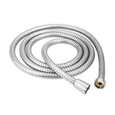 T Flexible 1.2m 1.5m 2m Chrome Stainless Steel Pipe Bathroom Shower Water Hose