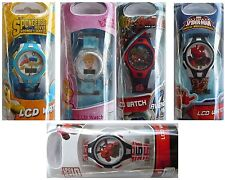 Digital Childrens Watches(Spiderman, Avengers, Cinderlla, Spongebob, Big Hero 6)