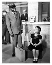 Photo Of Movie Actress Shirley Temple With Actor Sam McDaniel Movie Photo