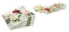 NEW Garden Rose Tablemats Dining Table Place Mats and Drinks Coasters Placemats